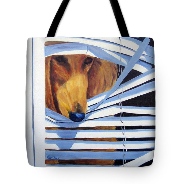 Home Alone Tote Bag by Terry  Chacon