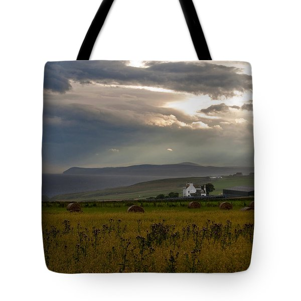 Home By The Sea Scotland Tote Bag by Sally Ross