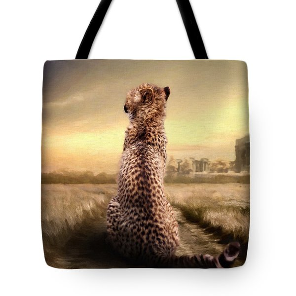 Tote Bag featuring the photograph Home by Christine Sponchia