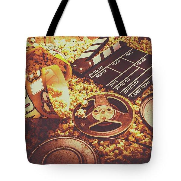 Home Cinema Art Tote Bag