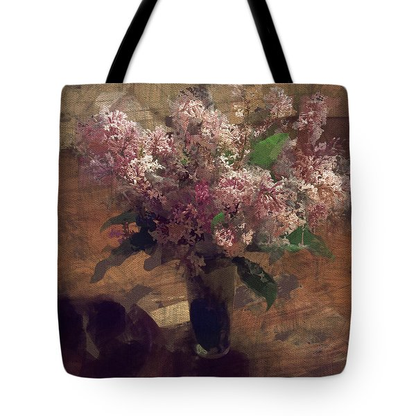 Home Flowers Tote Bag