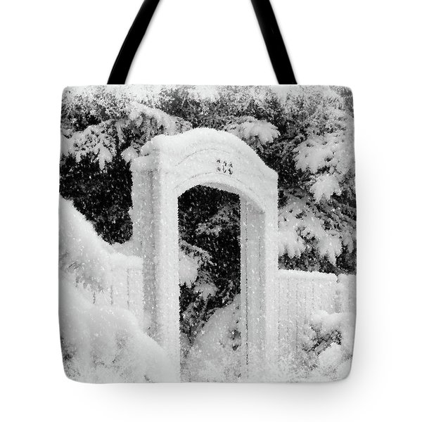 Home For Christmas Tote Bag by Blair Wainman