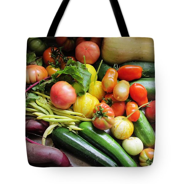 Home Garden Fruit Tote Bag