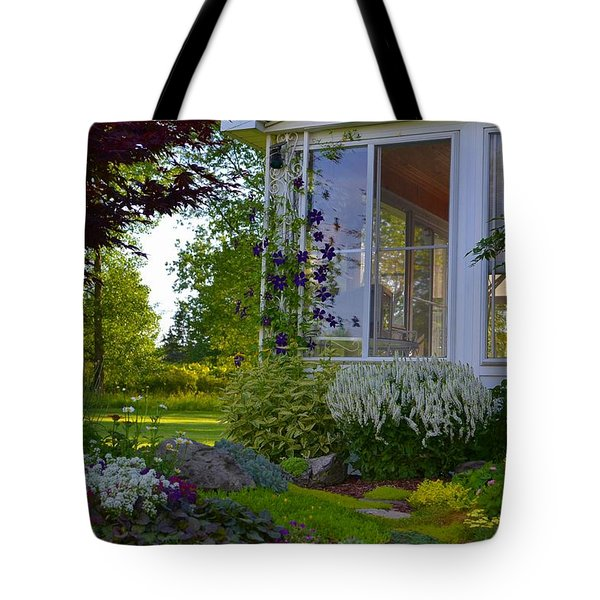 Home Garden Tote Bag