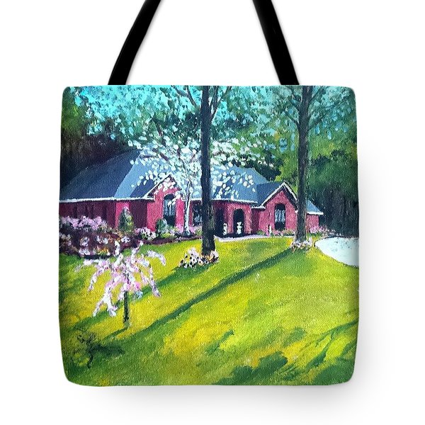Home In Batesville, Ms Tote Bag