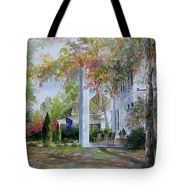 home in Cheraw Tote Bag