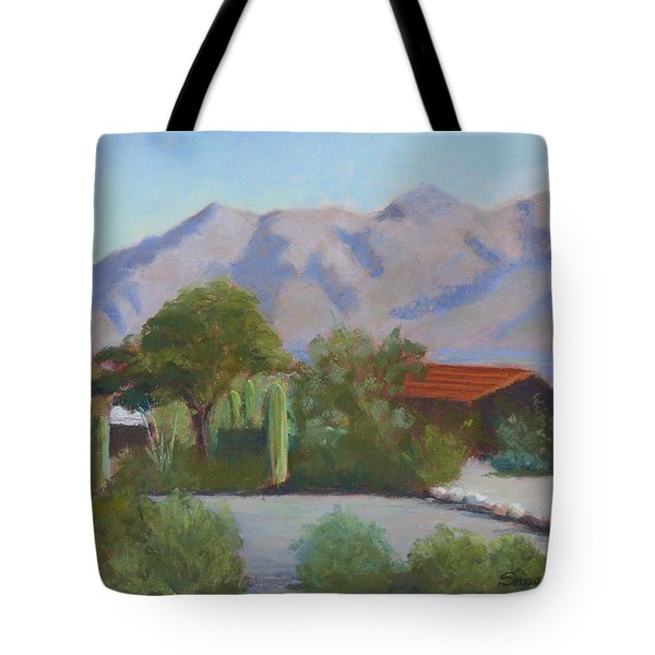 Home In The Catalinas Tote Bag