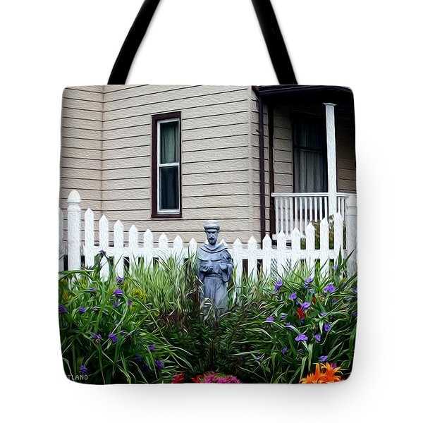 Home In The Heartland Oil Tote Bag