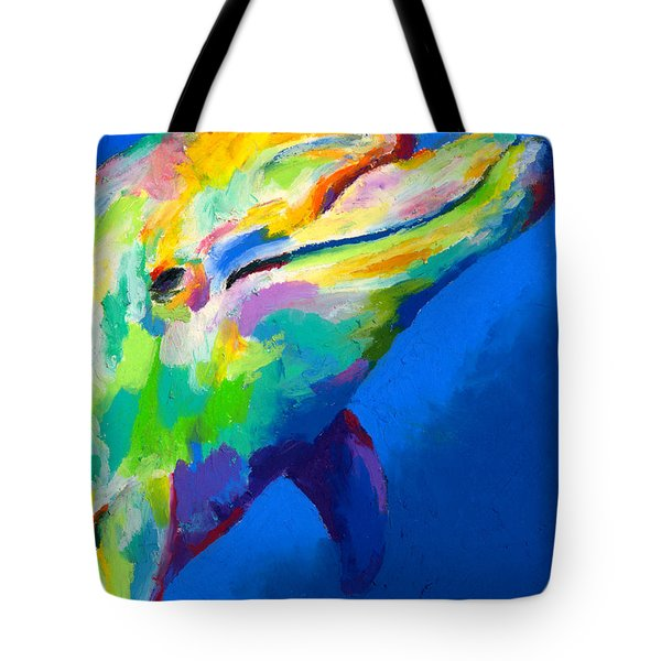Tote Bag featuring the painting Home Is Ocean by Stephen Anderson