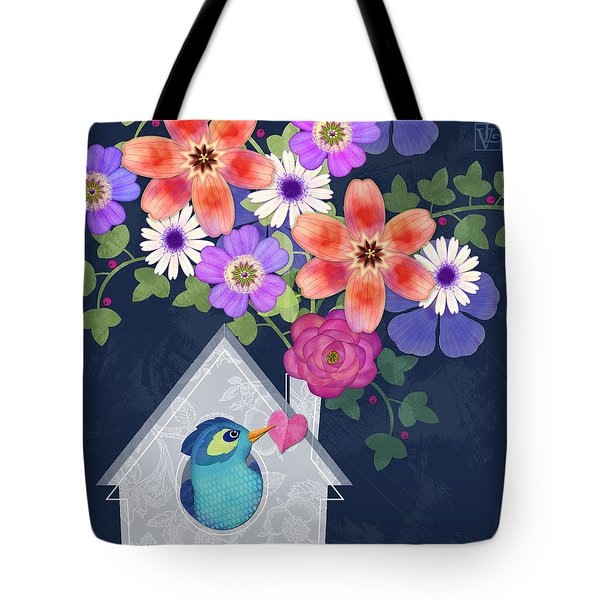 Home Is Where You Bloom Tote Bag