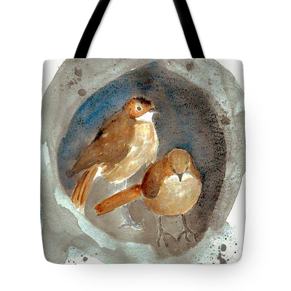 Tote Bag featuring the painting Home by Jasna Dragun