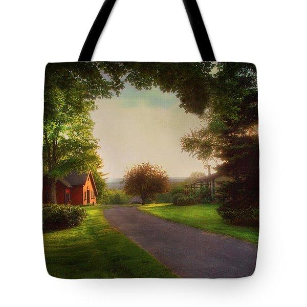 Home Tote Bag by Joann Vitali