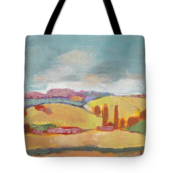 Home Land Tote Bag by Becky Kim