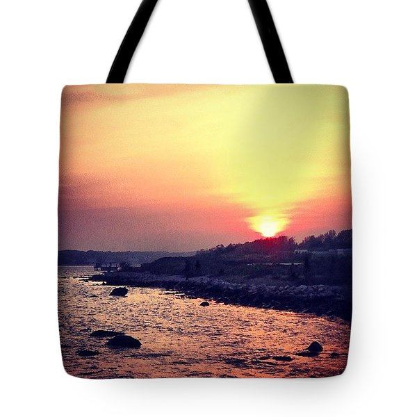 A Days End Tote Bag