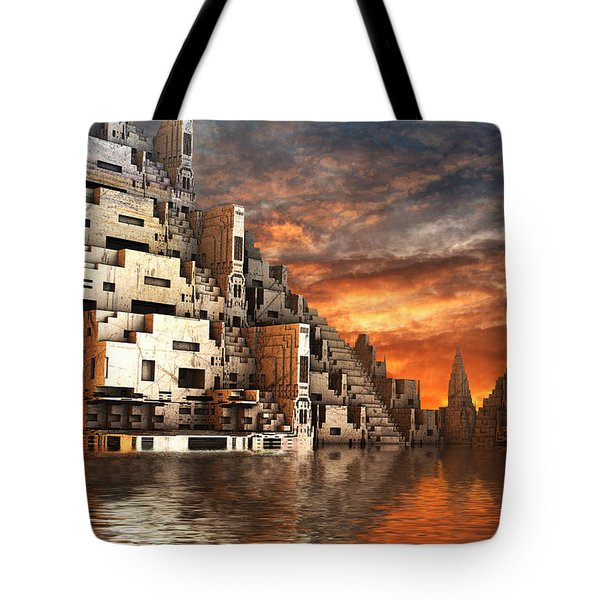 Home Of The Ancients Tote Bag