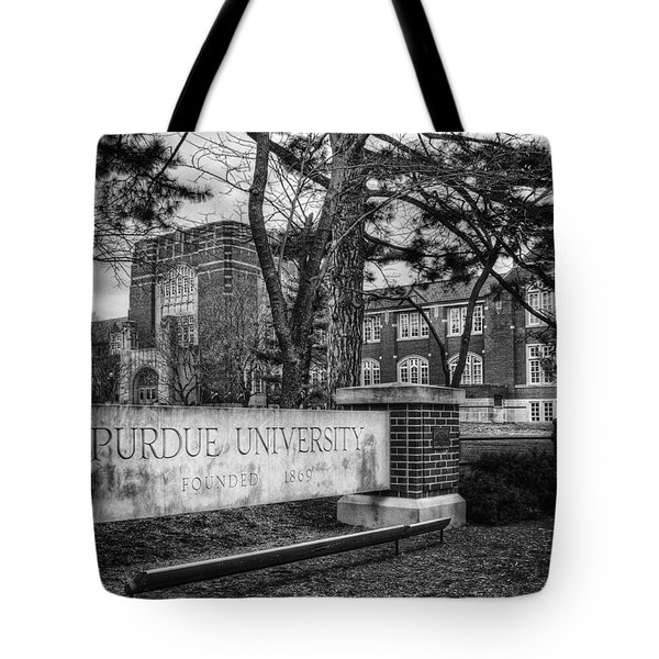 Tote Bag featuring the photograph Home Of The Boilers by Coby Cooper