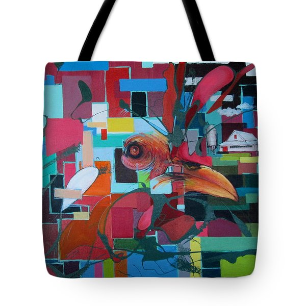 Home Of The Chicken Tote Bag