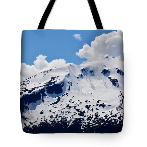 Home Of The North Wind - Skagway Tote Bag