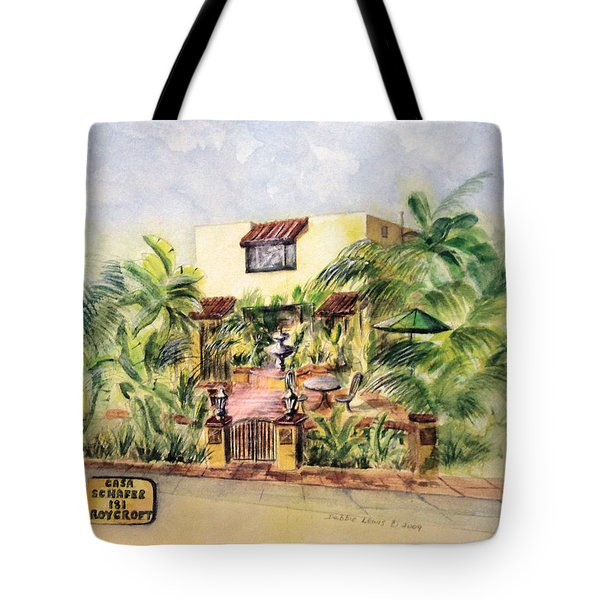 Home On Belmont Shore Tote Bag