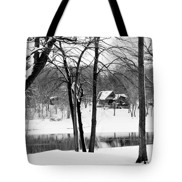 Home On The River Tote Bag by Kathy M Krause