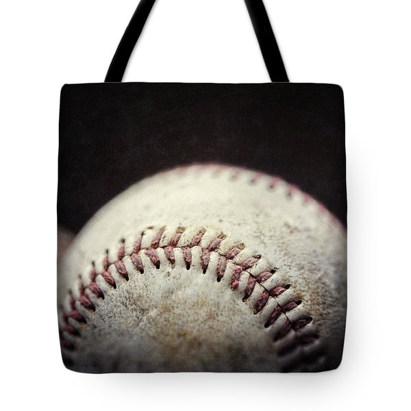 Home Run Ball Tote Bag by Lisa Russo