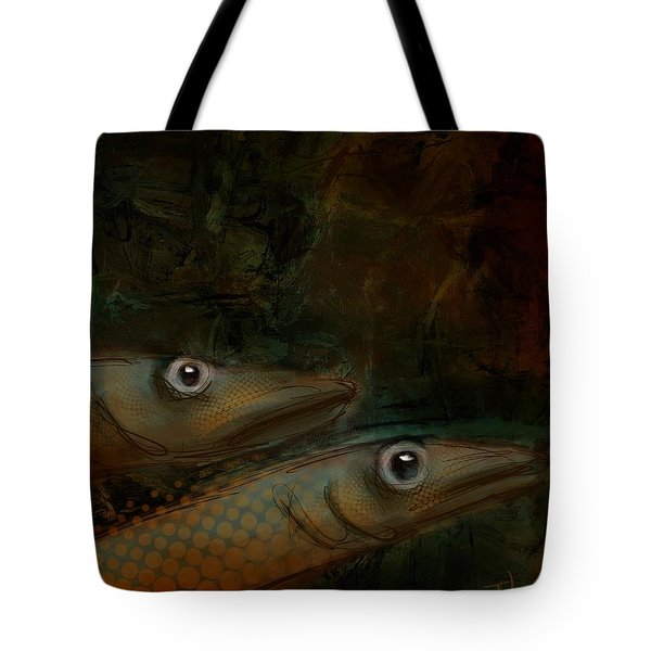 Tote Bag featuring the digital art Home Schooled by Jim Vance