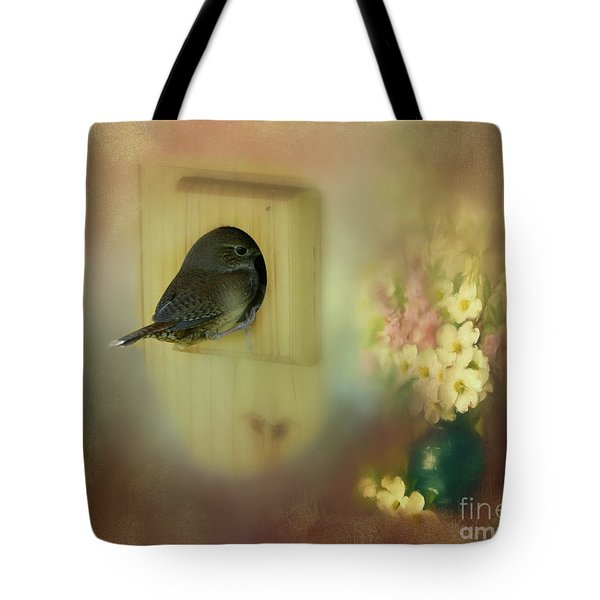 Tote Bag featuring the photograph Home Sweet Home by Brenda Bostic