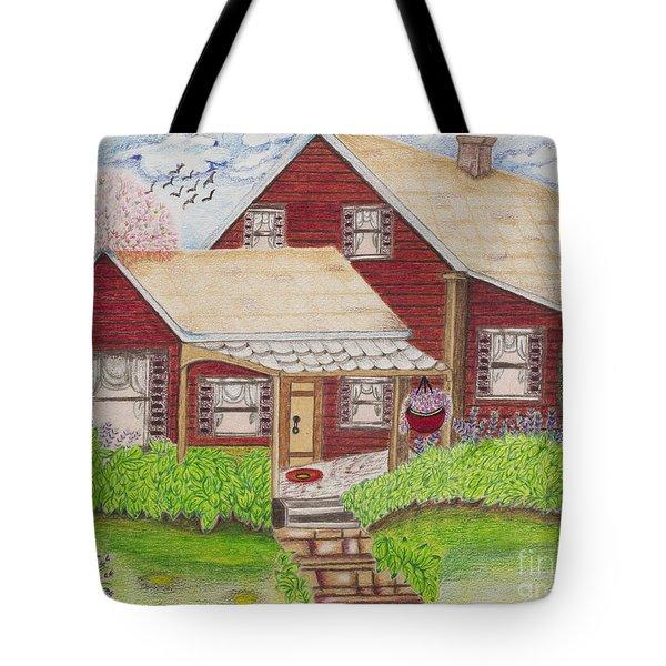 Home-sweet-home Tote Bag