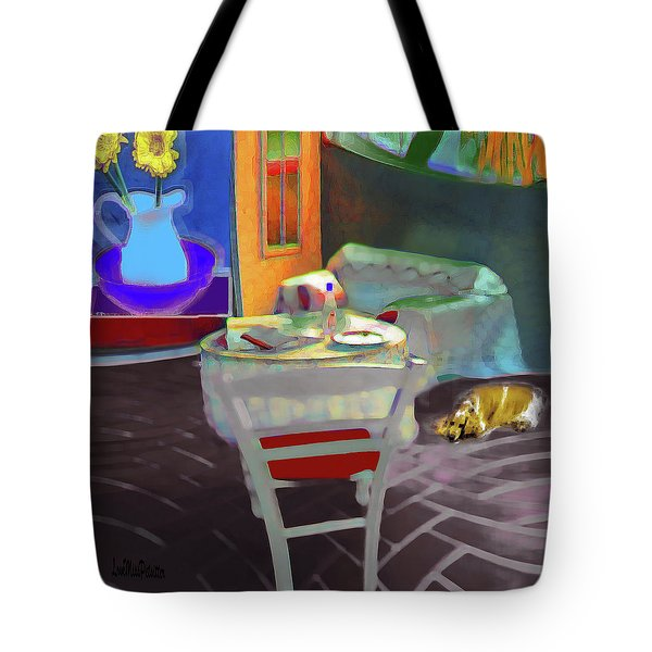 Home Sweet Home Painting Tote Bag