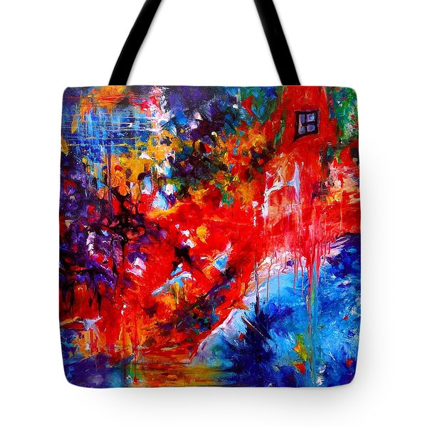 Home Sweet Home. Root Chakra. Series Healing Chakras. Tote Bag