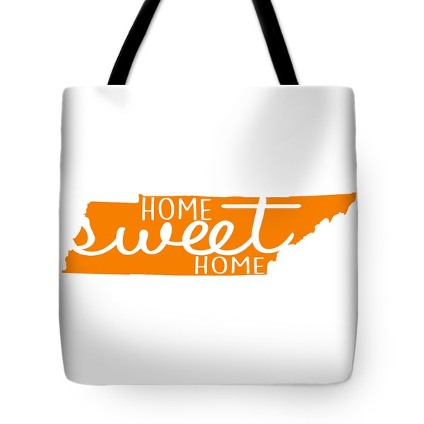 Tote Bag featuring the digital art Home Sweet Home Tennessee by Heather Applegate