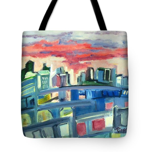 Home To The Softer Side Of City Tote Bag