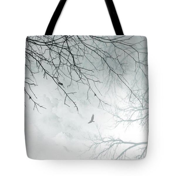 Tote Bag featuring the digital art Home by Trilby Cole