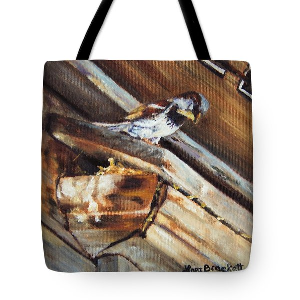 Home Under The Sign Tote Bag