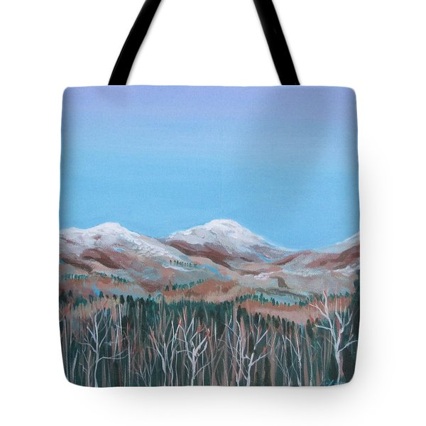 Home View Tote Bag