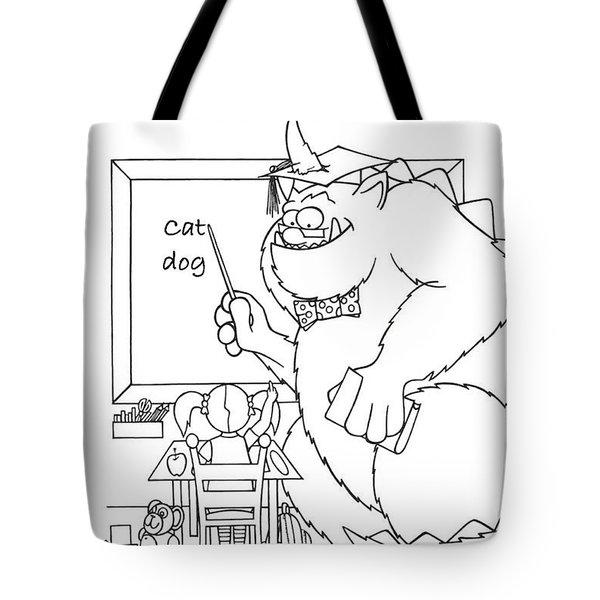 Home Work Tote Bag