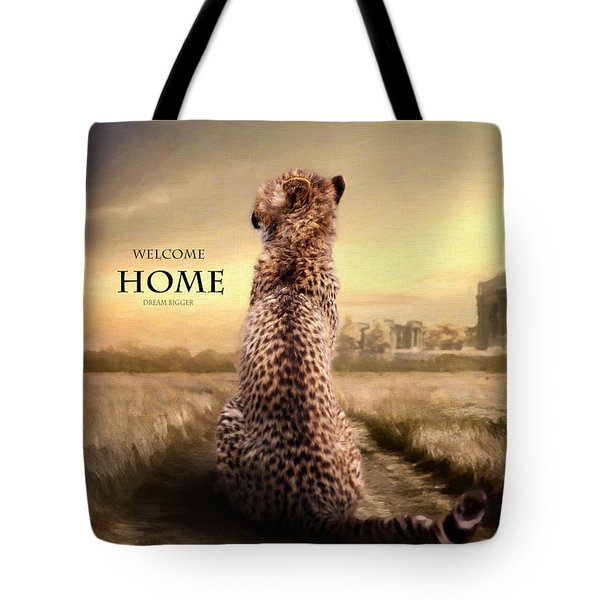 Tote Bag featuring the photograph Home2 by Christine Sponchia
