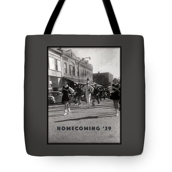 Homecoming 1959 Tote Bag