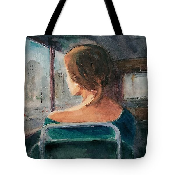 Homecoming... Tote Bag by Faruk Koksal