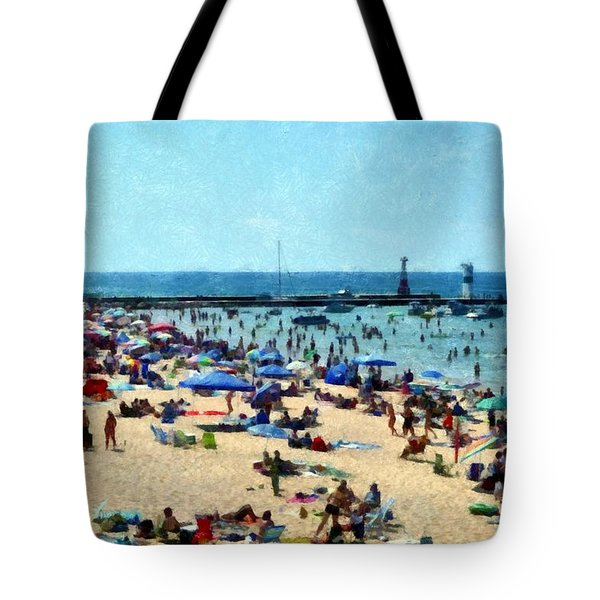 Homecoming In Pentwater Tote Bag
