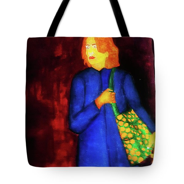 Homeless Girl Tote Bag
