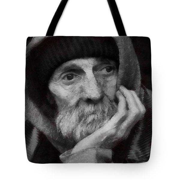 Homeless Tote Bag by Gun Legler