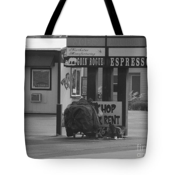 Homeless Hoarder Tote Bag
