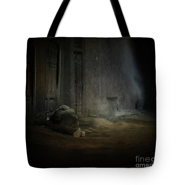 Homeless In China Tote Bag