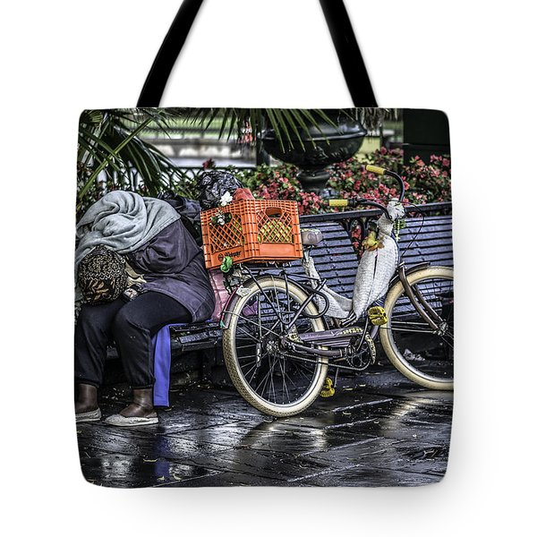 Homeless In New Orleans, Louisiana Tote Bag