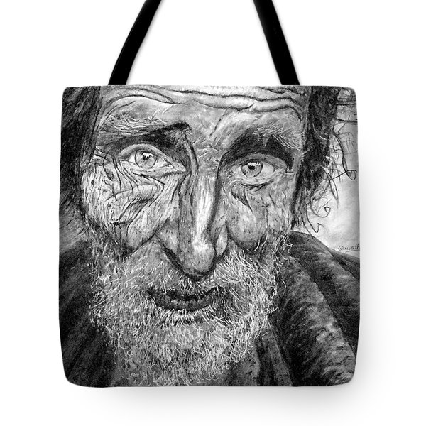 Homeless Mr. Craig Tote Bag
