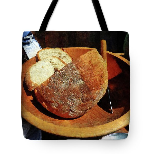 Homemade Bread Tote Bag by Susan Savad