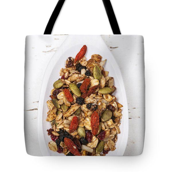 Homemade Granola In Spoon Tote Bag