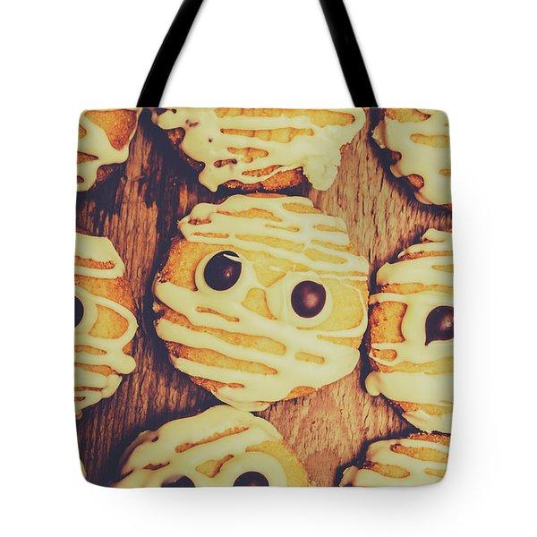 Homemade Mummy Cookies Tote Bag