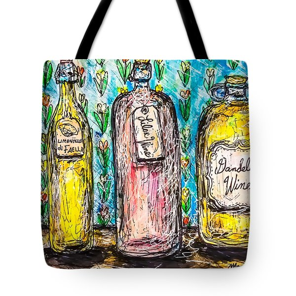 Homemade Wine Tote Bag